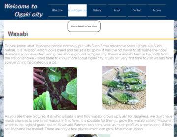 外国人向け 大垣市観光地紹介サイトで紹介されました